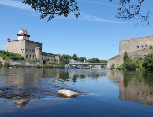 The nature of Ida-Virumaa, Soviet era industrial landscapes and the city of Narva